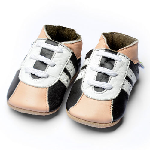 "SOGA ""sporty beige"" Turnschuhe soft sole 17/19-24/25 *by amsomo"
