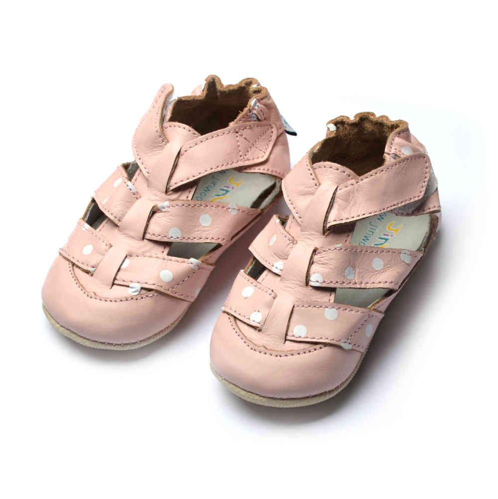 premium selection fb770 136f7 amsomo ministeps sandal carmen pink *Sandalen / Lederpuschen ...